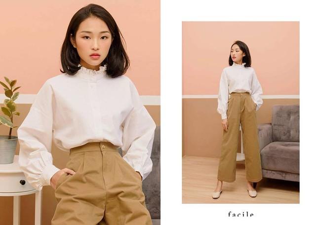 20 mẫu áo blouse siêu xinh từ các thương hiệu Việt chắc chắn sẽ đốn tim nàng trong những ngày giao mùa mát lịm - Ảnh 18.