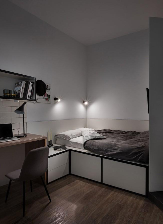 Căn hộ nhỏ vỏn vẹn gần 18m² này chứng minh cho bạn thấy ở nhà nhỏ vẫn tuyệt như nhà to - Ảnh 10.