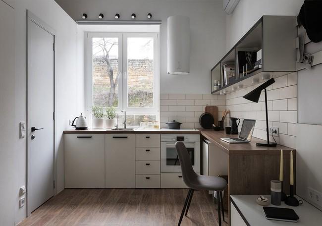 Căn hộ nhỏ vỏn vẹn gần 18m² này chứng minh cho bạn thấy ở nhà nhỏ vẫn tuyệt như nhà to - Ảnh 5.