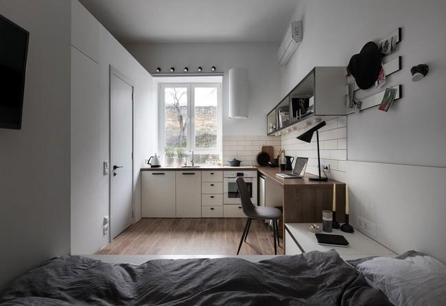 Căn hộ nhỏ vỏn vẹn gần 18m² này chứng minh cho bạn thấy ở nhà nhỏ vẫn tuyệt như nhà to - Ảnh 6.