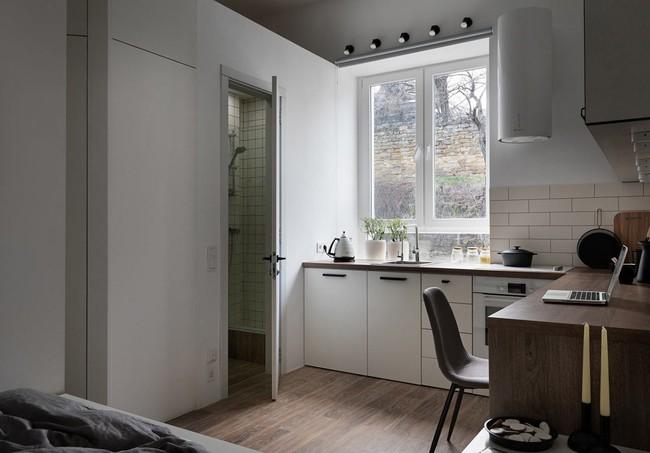 Căn hộ nhỏ vỏn vẹn gần 18m² này chứng minh cho bạn thấy ở nhà nhỏ vẫn tuyệt như nhà to - Ảnh 8.