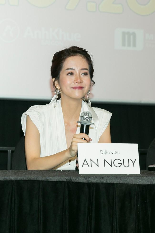Trở thành vợ của Kiều Minh Tuấn, An Nguy bật khóc ngay trong họp báo  - Ảnh 5.