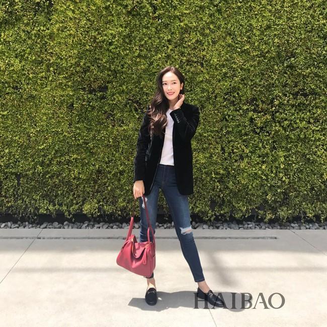 Chẳng kém tay chơi hàng hiệu nào, Jessica Jung sở hữu cả BST túi Hermes hàng tỷ đồng khiến ai cũng ghen tị - Ảnh 9.