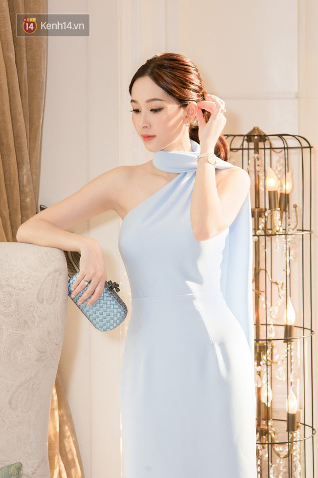 Tái xuất sau nửa năm sinh con, HH Thu Thảo khiến fan ngẩn ngơ trước sắc vóc đẹp tựa nữ thần - Ảnh 1.