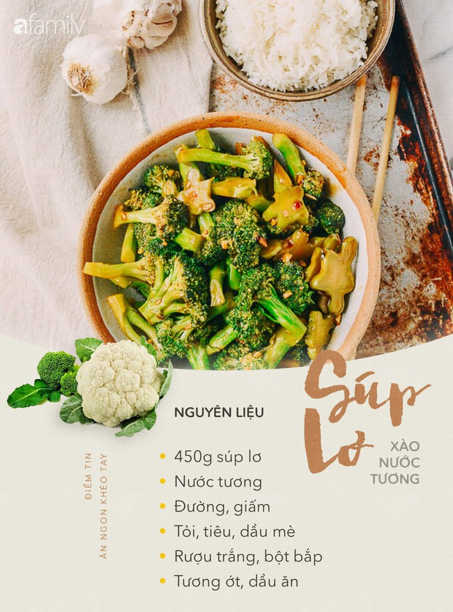 6 món rau xào cực ngon mà làm thì đơn giản để bạn chuẩn bị cho bữa cơm chiều - Ảnh 1.