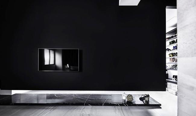 Chỉ với hai màu ghi và đen, căn hộ của cặp vợ chồng trẻ trở nên ấn tượng và cá tính bất ngờ - Ảnh 8.