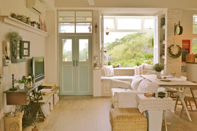Căn hộ đẹp bình yên với nội thất nhỏ gọn cùng cách sắp xếp đồ thông minh của vợ chồng trẻ - Ảnh 5.