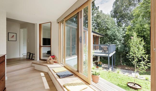 Nhà cấp 4 trên triền đồi êm dịu như một bản hòa tấu nhờ sự ăn ý của nội thất và thiên nhiên - Ảnh 4.