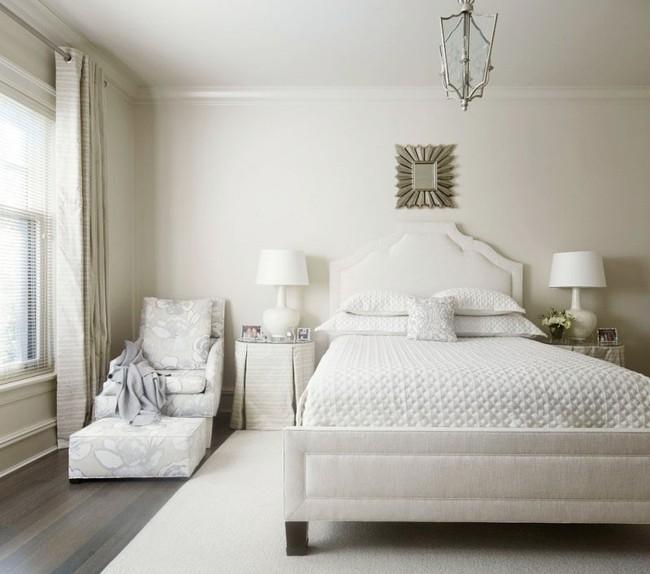 Nhẹ nhàng, đơn giản là thế nhưng một phòng ngủ đơn sắc trắng vẫn là niềm yêu thích của biết bao chị em - Ảnh 8.