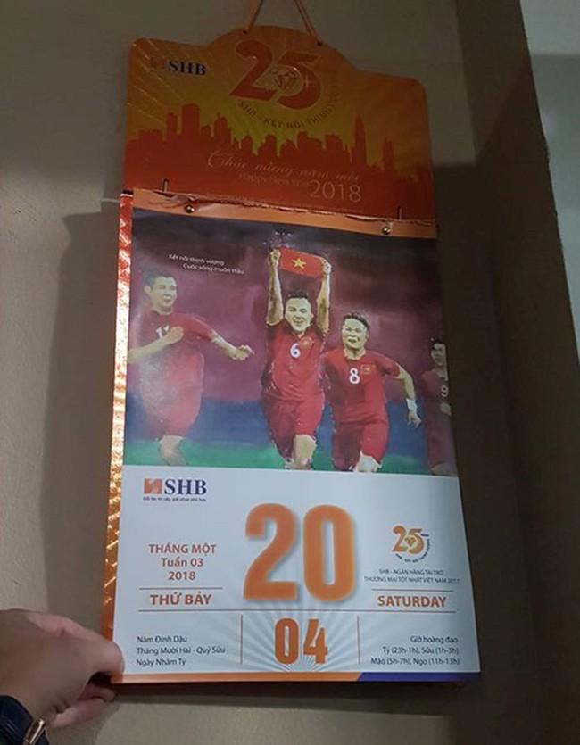 Cư dân mạng lại xôn xao với tờ lịch tiên tri, dự đoán kết quả trận bán kết lịch sử ngày mai giữa Olympic Việt Nam và Hàn Quốc - Ảnh 2.