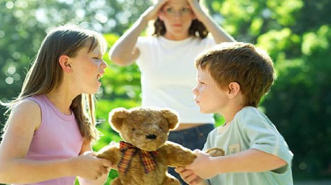 2 đứa trẻ đánh nhau tranh đồ chơi, cách ứng xử của 2 bà mẹ khiến người ngoài sốt ruột - Ảnh 3.