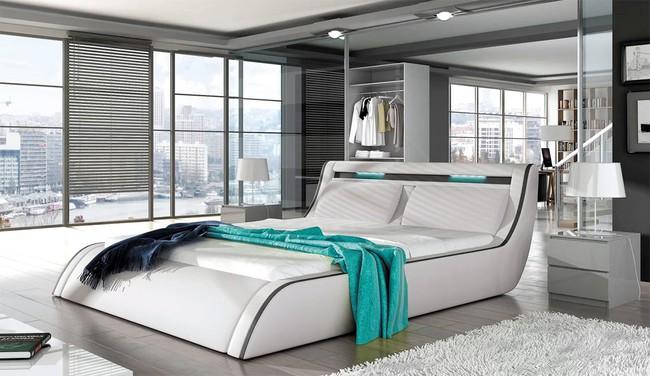 15 thiết kế giường ngủ sang chảnh lại thoải mái khiến bạn không muốn rời phòng ngủ chút nào - Ảnh 3.