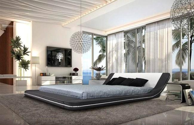 15 thiết kế giường ngủ sang chảnh lại thoải mái khiến bạn không muốn rời phòng ngủ chút nào - Ảnh 4.