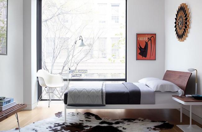 15 thiết kế giường ngủ sang chảnh lại thoải mái khiến bạn không muốn rời phòng ngủ chút nào - Ảnh 6.