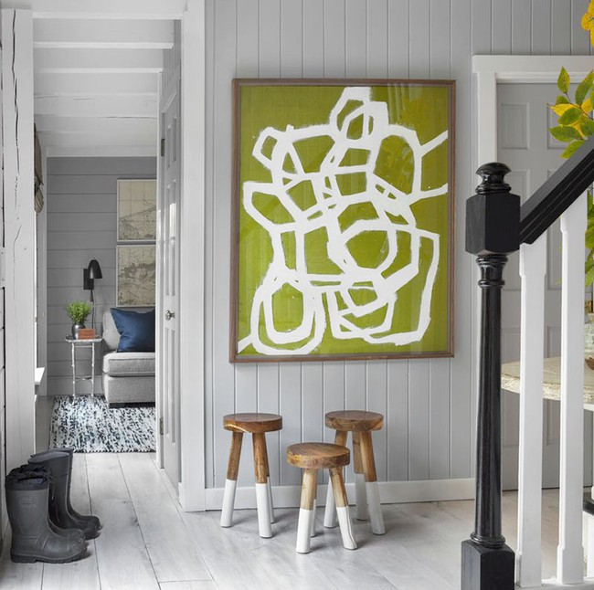 Muốn biết chủ nhân tinh tế đến đâu chỉ cần nhìn cách lựa chọn tranh trang trí trong nhà là biết - Ảnh 2.