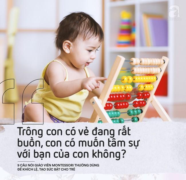 Học cách giáo viên Montessori nói với trẻ để nuôi dạy con thành người luôn mạnh mẽ và đầy tự tin - Ảnh 8.