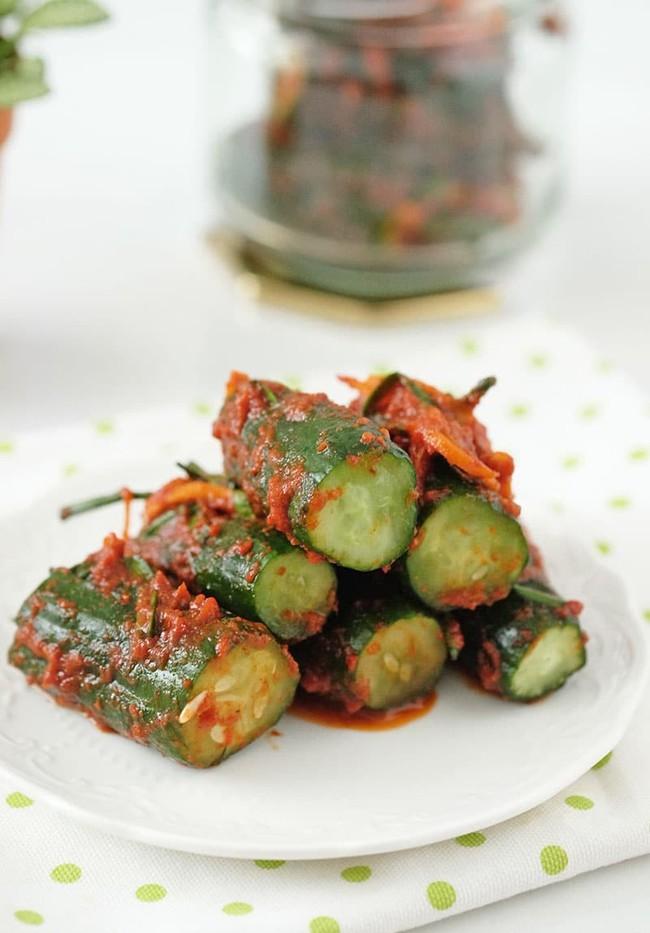 Công thức làm kim chi dưa chuột chuẩn vị Hàn ăn kèm món nào cũng ngon - Ảnh 8.