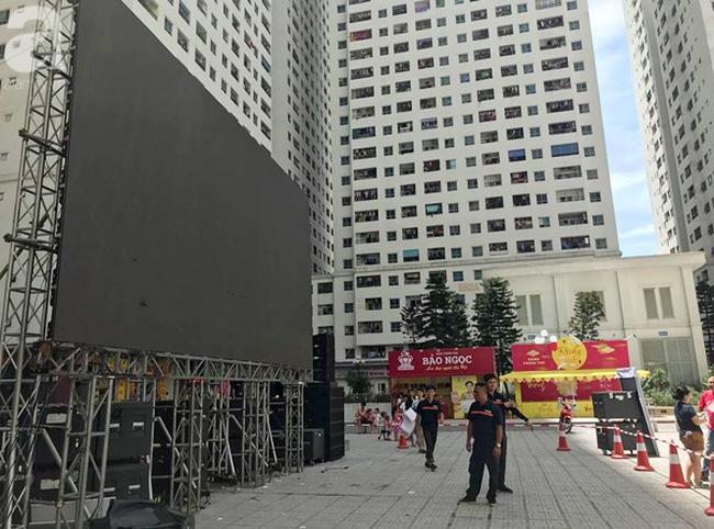 Chơi trội, chung cư vạn dân HH Linh Đàm lại dựng màn LED 32 mét vuông tiếp lửa cho Olympic Việt Nam   - Ảnh 8.