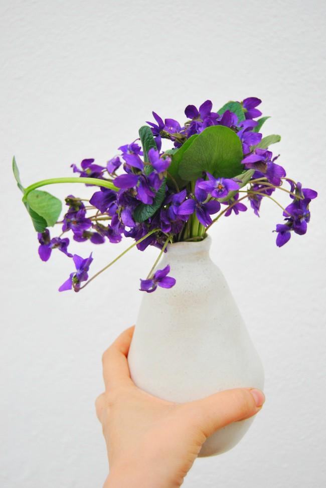 Cách cắm hoa Violet dễ ợt ai cũng có thể tự tay làm được để trang trí nhà đón Tết - Ảnh 4.