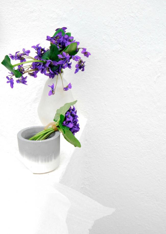 Cách cắm hoa Violet dễ ợt ai cũng có thể tự tay làm được để trang trí nhà đón Tết - Ảnh 9.