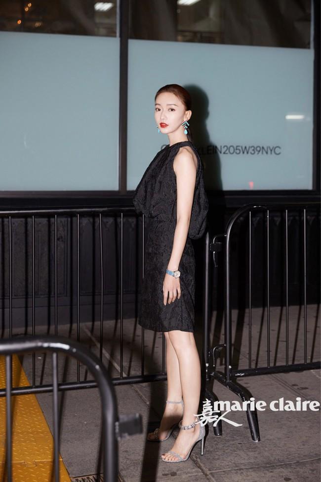 Trong khi Hoắc Kiến Hoa bận làm Càn Long thị tẩm phi tần, Lâm Tâm Như lẻ bóng đi dự show tại Tuần lễ thời trang New York - Ảnh 9.