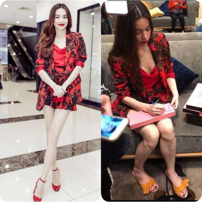 Cũng như bao chị em khác, các người đẹp Việt cũng có chiêu bóp eo, kéo chân, làm mặt... của riêng mình  - Ảnh 9.