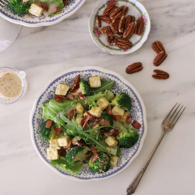 Công thức salad súp lơ ngon lạ miệng lại có tác dụng giảm cân  - Ảnh 6.