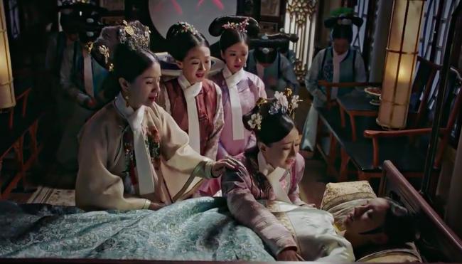 Hoàng hậu - Đổng Khiết chết khán giả cười rần rần, cảnh bi thương mà hài hước chẳng khác nào phim cương thi  - Ảnh 2.