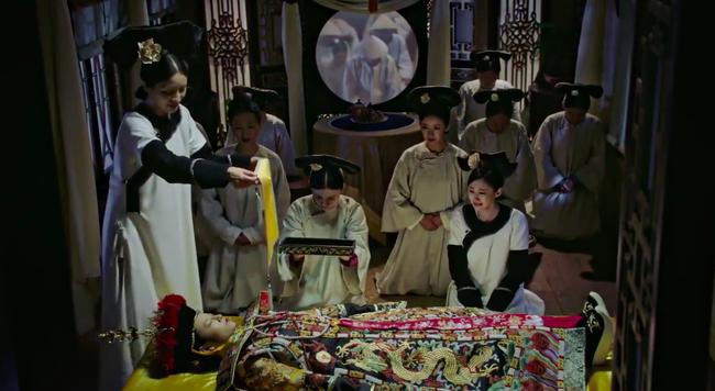 Hoàng hậu - Đổng Khiết chết khán giả cười rần rần, cảnh bi thương mà hài hước chẳng khác nào phim cương thi  - Ảnh 3.