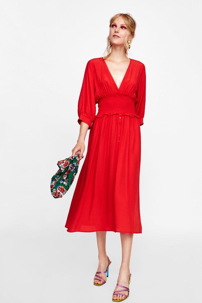 Để không chậm chân như Hà Hồ, hãy tham khảo ngay 10 mẫu váy midi mới nhất từ Zara, H&M dành riêng cho mùa thu này - Ảnh 6.