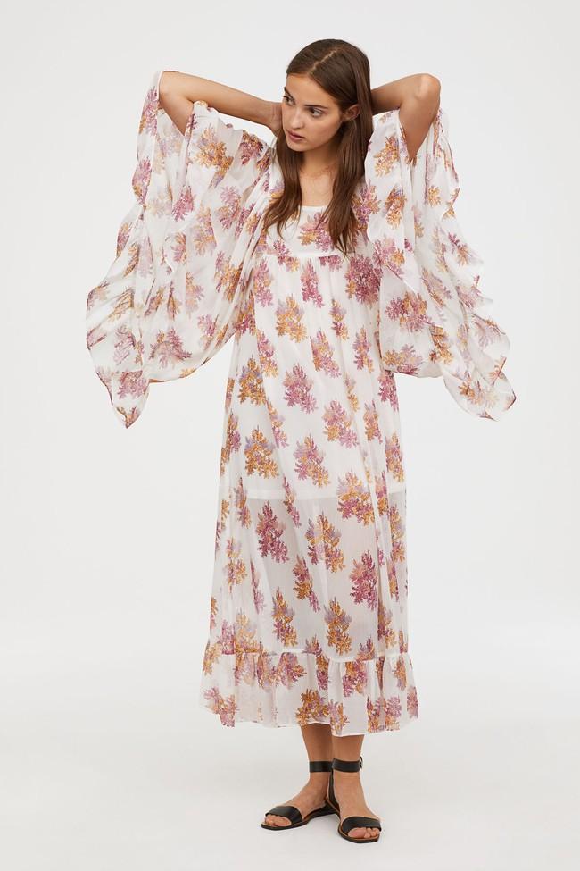 Duyên dáng như Hà Hồ diện váy liền dạo phố đón nắng thu, Zara và H&M cũng gợi ý 10 mẫu váy midi siêu nữ tính dành riêng cho bạn - Ảnh 13.