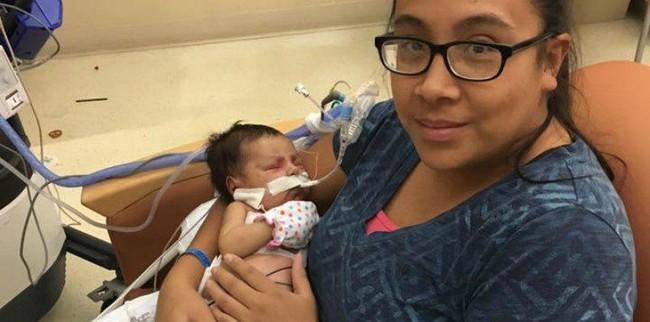 Con gái mới 14 ngày tuổi đã bị mắc bệnh ung thư, mẹ tự trách mình vì làm điều không tốt khi mang thai - Ảnh 2.