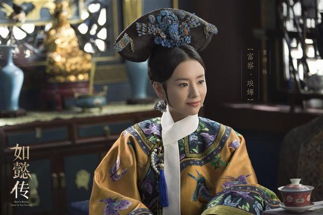 Cùng là Phú Sát Hoàng hậu,  thế nhưng nhan sắc của Tần Lam được ngợi khen không ngớt thì Đổng Khiết lại suốt ngày bị chê già, xuống sắc - Ảnh 3.