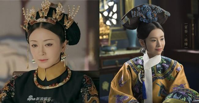 Cùng là Phú Sát Hoàng hậu,  thế nhưng nhan sắc của Tần Lam được ngợi khen không ngớt thì Đổng Khiết lại suốt ngày bị chê già, xuống sắc - Ảnh 1.