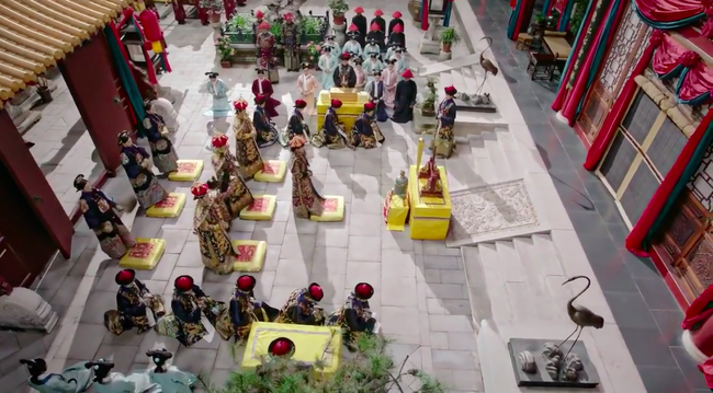 Trước khi lên ngôi Hoàng hậu, Châu Tấn còn được phong làm Hoàng Quý phi hoành tráng thế này  - Ảnh 3.