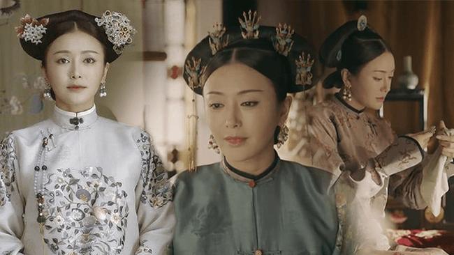 Cùng là Phú Sát Hoàng hậu,  thế nhưng nhan sắc của Tần Lam được ngợi khen không ngớt thì Đổng Khiết lại suốt ngày bị chê già, xuống sắc - Ảnh 2.