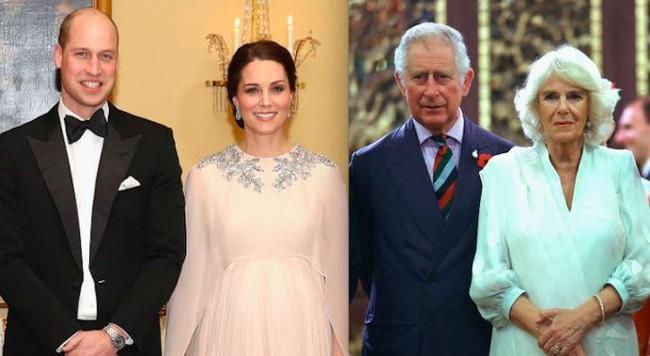 Công nương Kate đáp trả mẹ chồng Camilla bằng việc cấm cửa bà đến gần Hoàng tử Louis mới sinh, hạn chế thăm các cháu, khiến bà giận tím mặt - Ảnh 1.