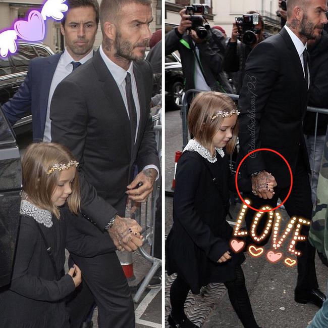 Harper gây chú ý trong show diễn kỉ niệm 10 năm của Victoria Beckham với mái tóc ngắn cùng móng tay đen táo bạo - Ảnh 5.