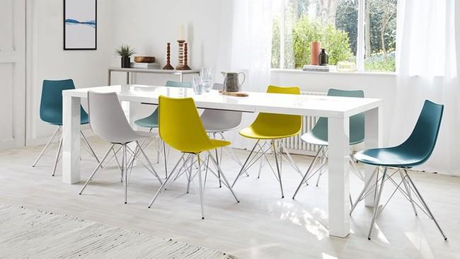 Mẫu bàn ghế ăn đẹp hiện đại - Ảnh 4.