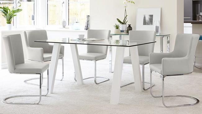 Mẫu bàn ghế ăn đẹp hiện đại - Ảnh 8.