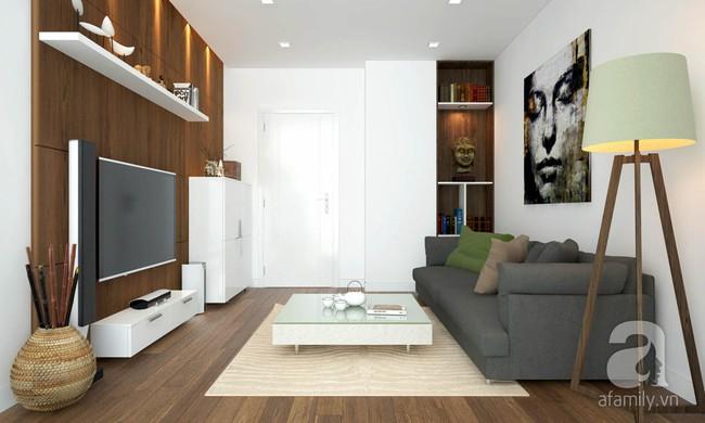 Tư vấn thiết kế cho căn hộ 50m² cho vợ chồng mới cưới với chi phí chưa đến 110 triệu đồng - Ảnh 2.