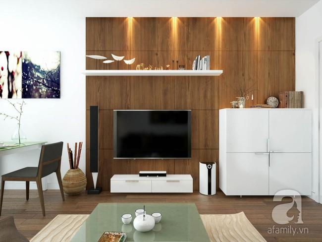 Tư vấn thiết kế cho căn hộ 50m² cho vợ chồng mới cưới với chi phí chưa đến 110 triệu đồng - Ảnh 3.