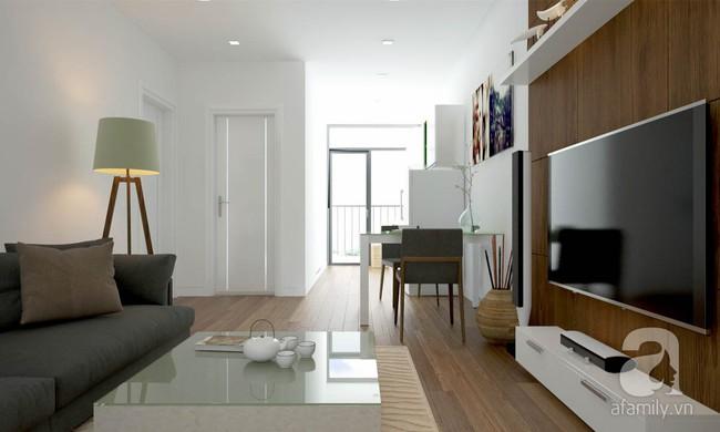 Tư vấn thiết kế cho căn hộ 50m² cho vợ chồng mới cưới với chi phí chưa đến 110 triệu đồng - Ảnh 4.