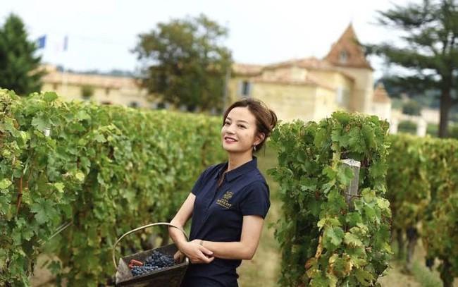 Én nhỏ Triệu Vy xinh đẹp tự tay thu hoạch nho trong khu vườn rộng 7ha của gia đình - Ảnh 12.