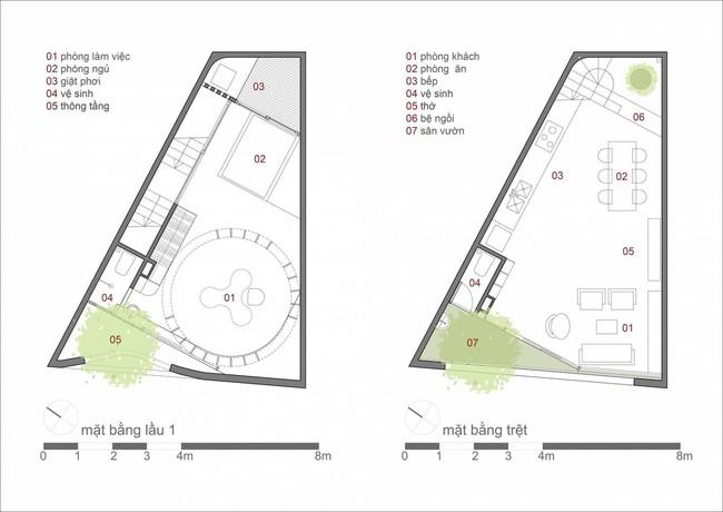 Ngôi nhà 48m² xây trên đất xéo có hàng tá nhược điểm nhưng góc nào cũng khiến người ta xuýt xoa bởi quá hợp lý ở Sài Gòn - Ảnh 18.