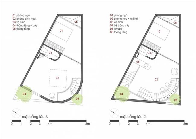 Ngôi nhà 48m² xây trên đất xéo có hàng tá nhược điểm nhưng góc nào cũng khiến người ta xuýt xoa bởi quá hợp lý ở Sài Gòn - Ảnh 19.