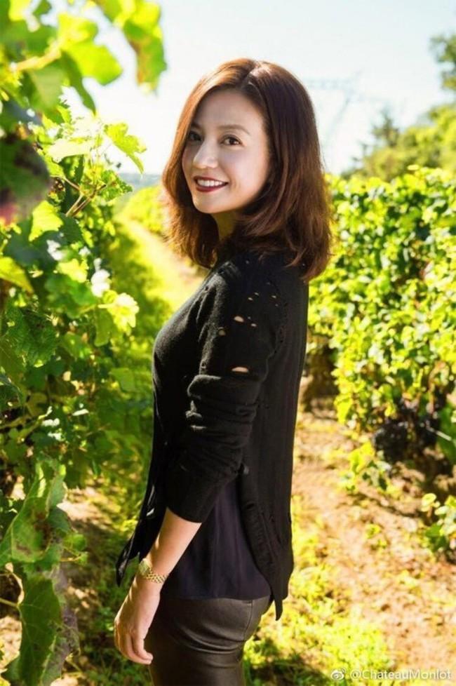 Én nhỏ Triệu Vy xinh đẹp tự tay thu hoạch nho trong khu vườn rộng 7ha của gia đình - Ảnh 4.
