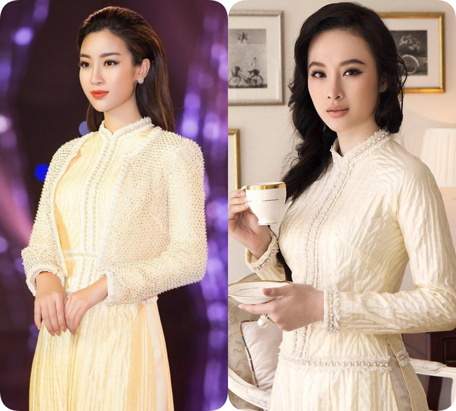 Nhẹ nhàng, mong manh như HH Đỗ Mỹ Linh cũng có tới 3 lần đụng độ váy áo với người đẹp nóng bỏng Angela Phương Trinh - Ảnh 10.