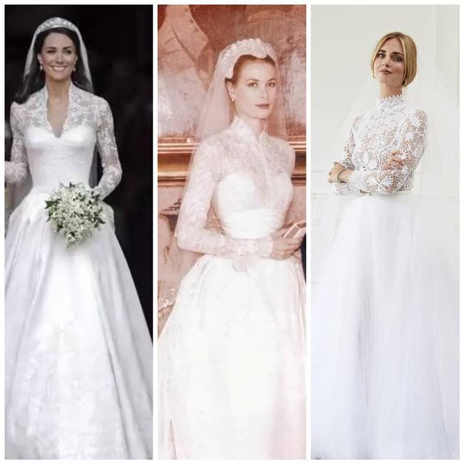 Váy cưới của hot fashionista Chiara Ferragni đẹp hơn tưởng tượng, được Dior thiết kế riêng và tốn tới 1600 giờ để hoàn thiện - Ảnh 5.