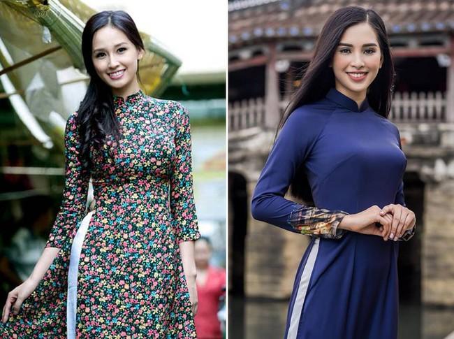 """Giống nhau đến bất ngờ, Mai Phương Thúy và Trần Tiểu Vy cứ như cặp chị em thất lạc"""" mới của showbiz Việt - Ảnh 4."""